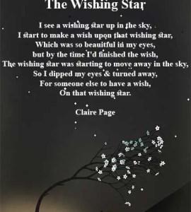 Star poems short