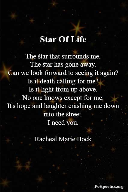 Famous star poetry