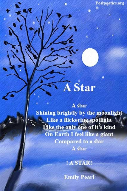 famous poems about stars
