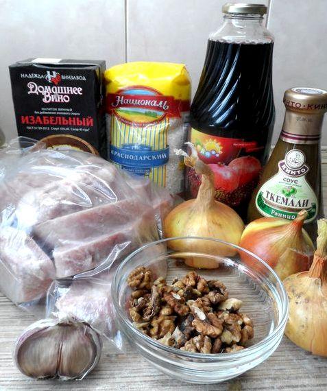 Суп харчо из говядины пошаговый рецепт с фото