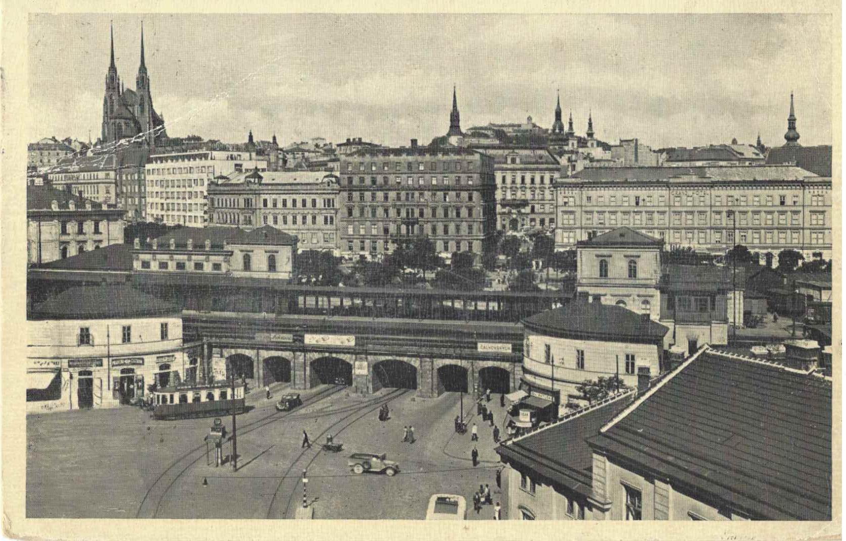Brno, Hlavni Nadrazi | 1940