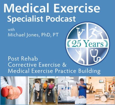 Medical Exercise Specialist Podcast Cover Art