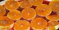 Naranjas al vino