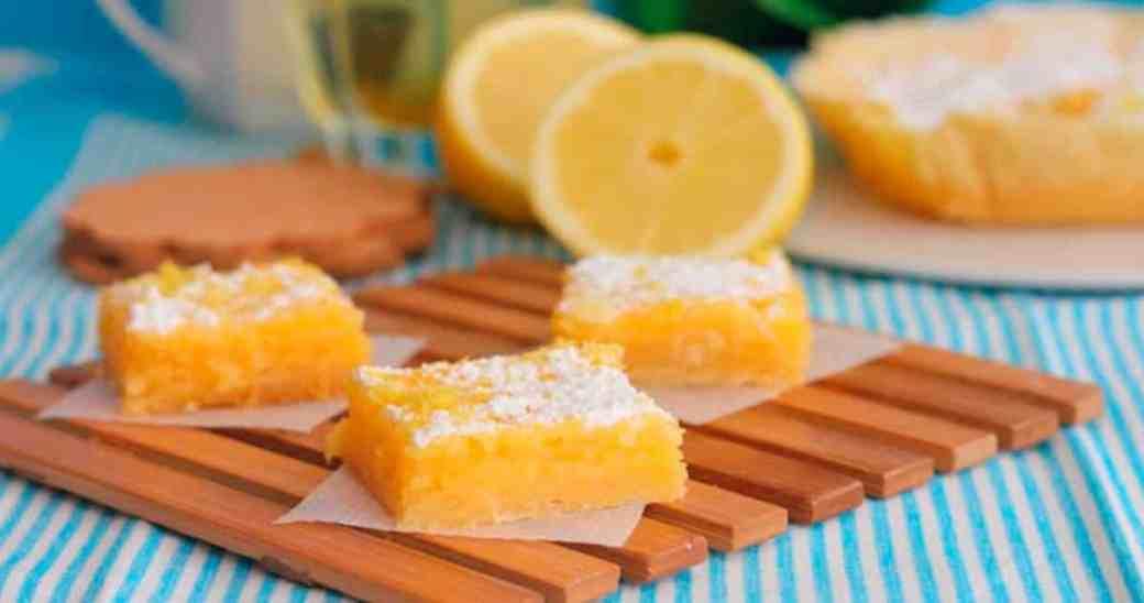 Postre Fácil de Limón