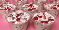 Fresas con crema receta