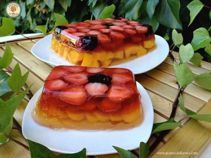 gelatina-con-frutas