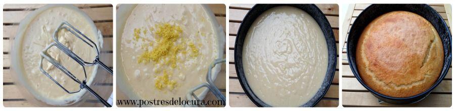 Preparacion bizcocho de yogur 2