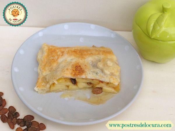 Porcion de empanada de manzana
