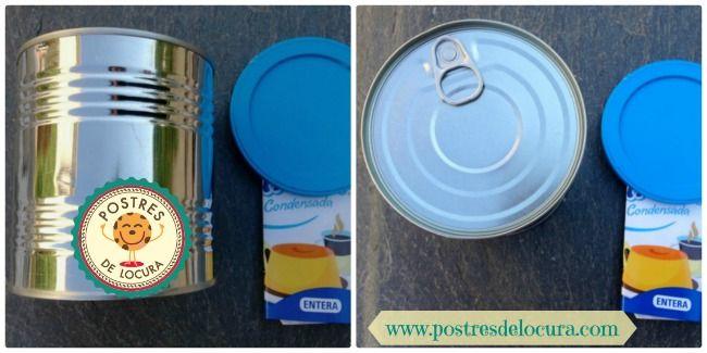 lata de leche condensada