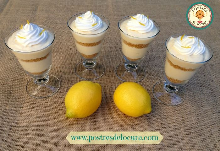 Pie de limon en copa