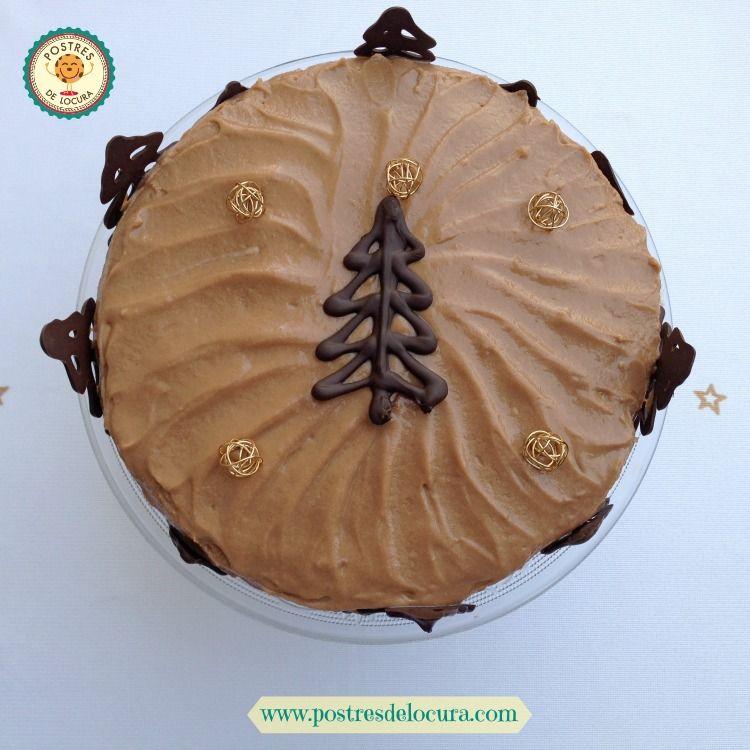 Tarta de chocolate y queso crema sin horno