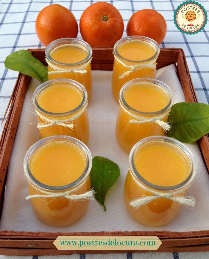 Gelatina natural de naranja y mandarina