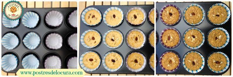 Elaboracion muffins