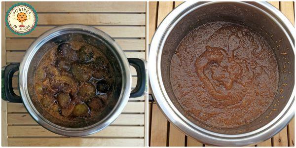 Higos cocidos para mermelada