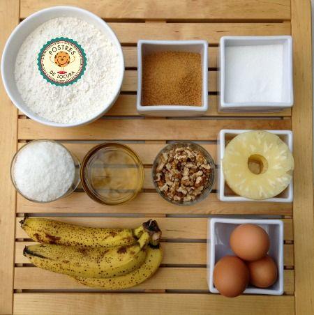 Ingredientes tarta colibri