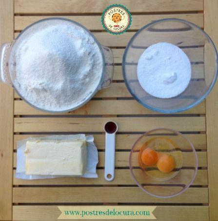 Ingredientes galletas para decorar