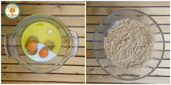 Preparacion galletas de avena y turron 2