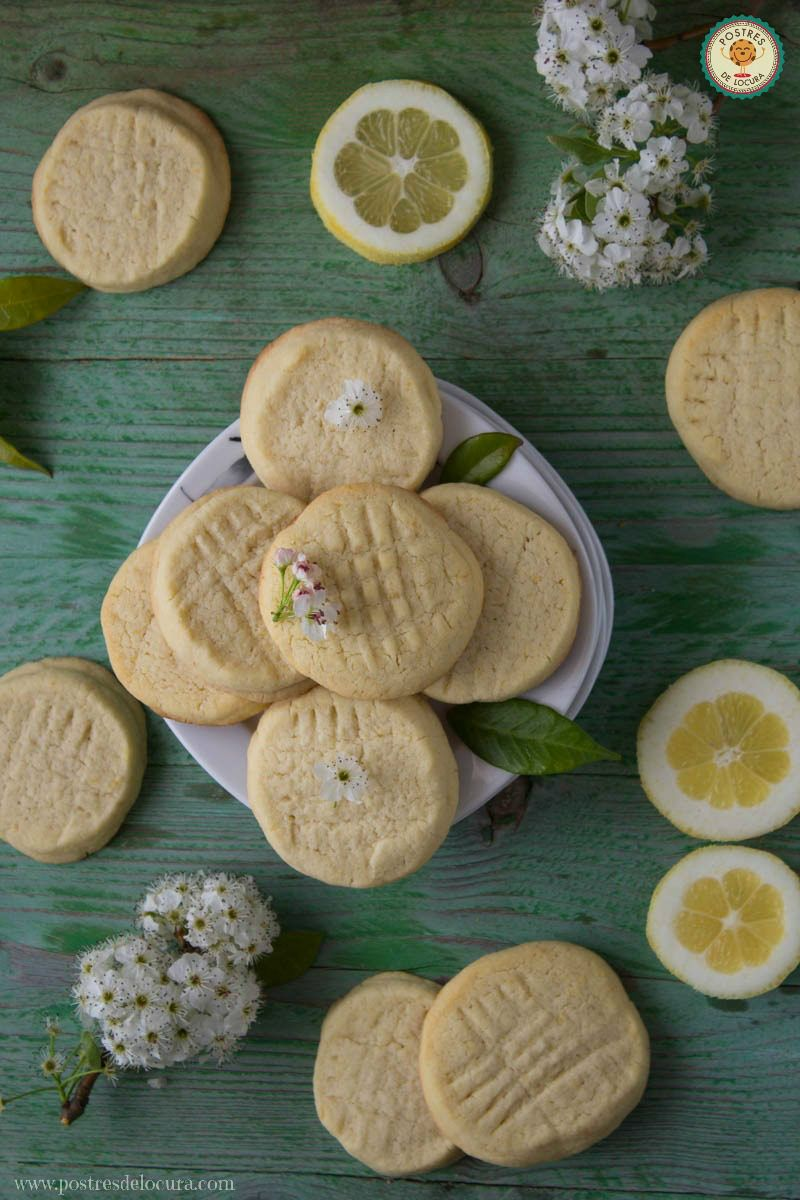 Galletas de mantequilla y limon