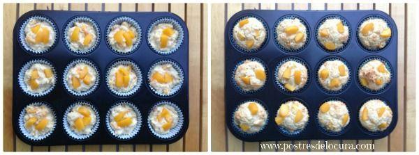 muffins-en-molde-antes-y-despues-de-salir-del-horno