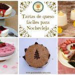 TARTAS DE QUESO FACILES PARA NOCHEVIEJA