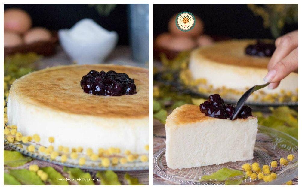 Tarta de queso al horno facil