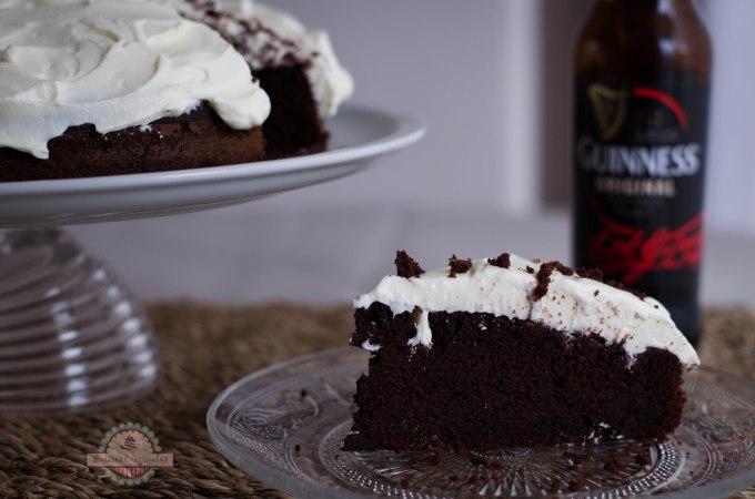 Tarta Guinness o Cerveza Negra