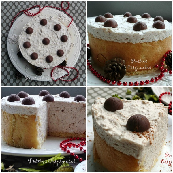 Tarta Mousse de Arroz con Leche Collage
