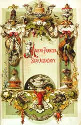 Tarta Dobos - Dobos_C_József_Magyar–franczia_szakácskönyv_1881