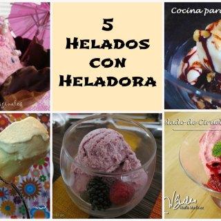 Helados con Heladora