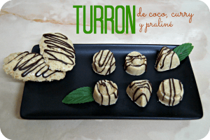 Turrón de chocolate Blanco y Coco - Un dulce escape