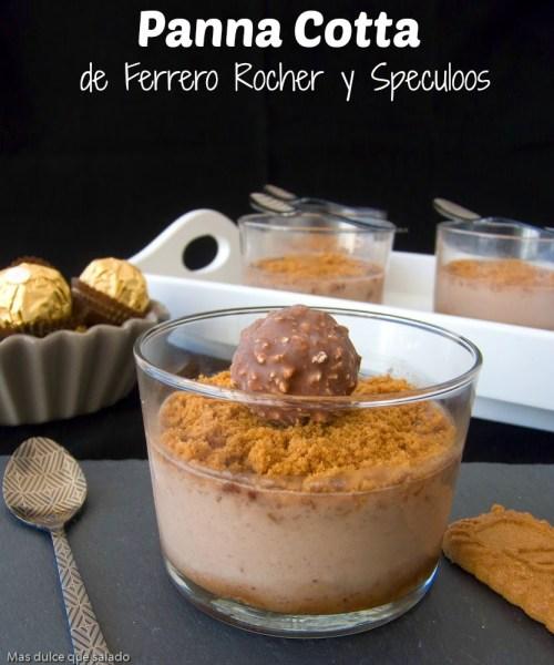 Bombones Ferrero Rocher - Pana Cotta
