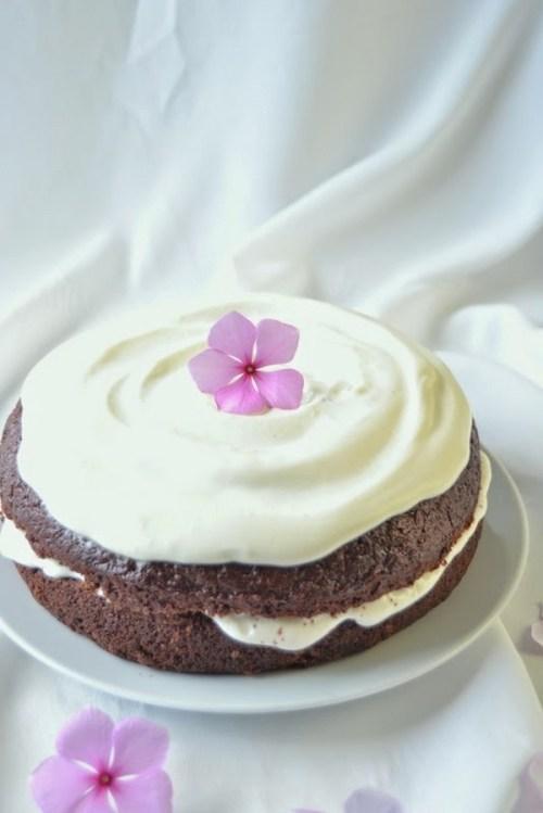 Postres con Verduras - Layer Cake de Chocolate y Remolacha