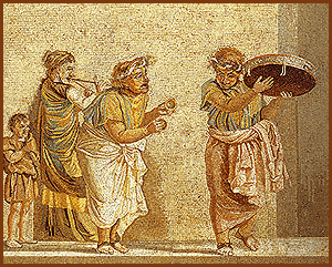 Origen del Roscón de Reyes saturnales-romanas