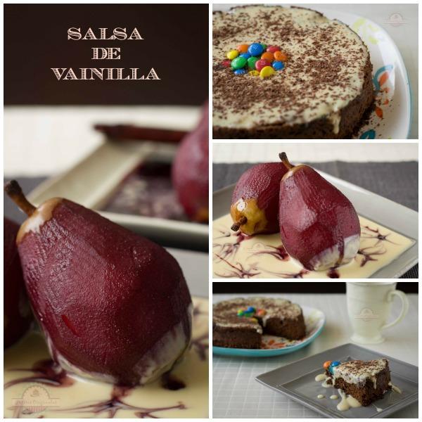 Salsa de Vainilla Collage
