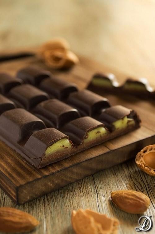 Postres con Aguacate - Tableta de chocolate de aguacate