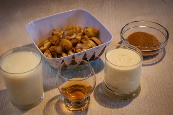 Crema de Castañas - Ingredientes
