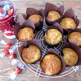 Muffins con Corazón de Chocolate