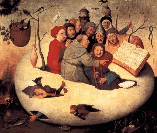 Concierto en el Huevo - El Bosco