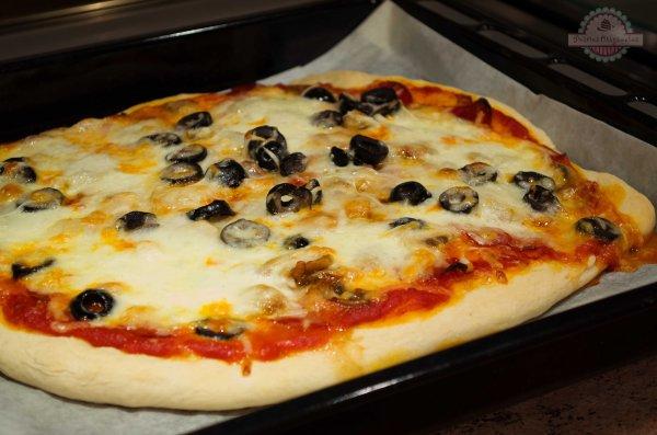 Pizza Casera en Panificadora