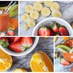 Smoothie de fresas y jengibre