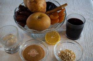 Compota de Navidad o Compota de Manzana