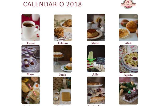 Calendario 2018 Feliz Navidad