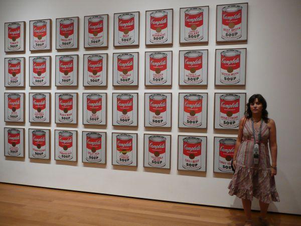 Campbell's Soup - Andy Warhol - Museo Moma en Nueva York