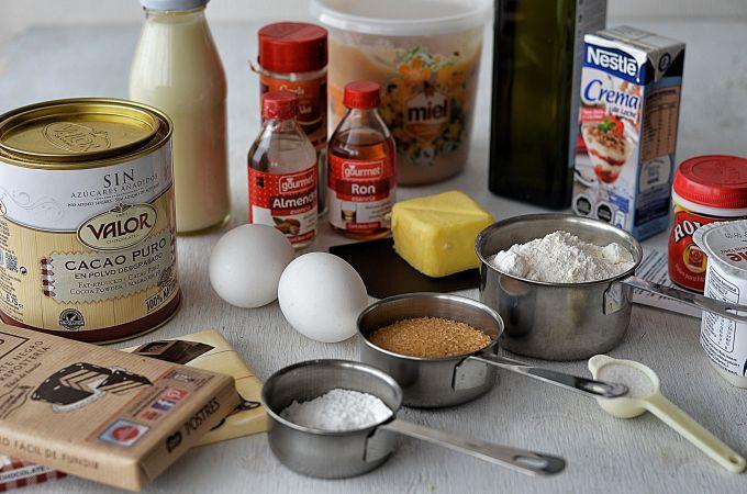15 Ingredientes básicos de repostería