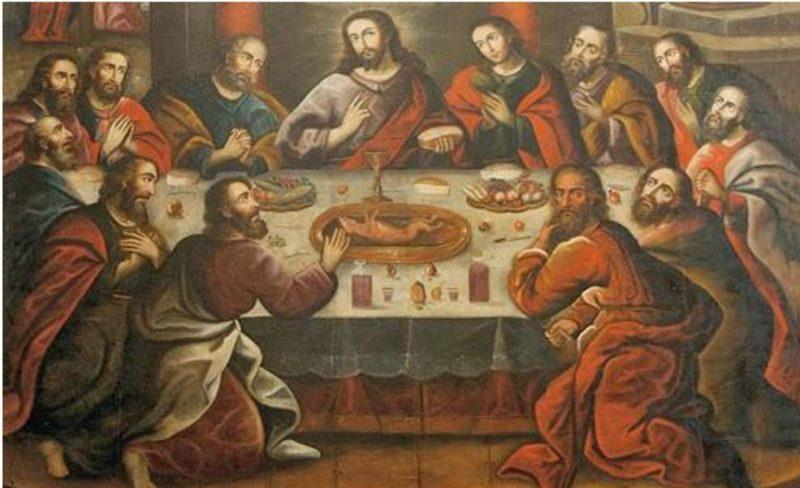 La última Cena Marcos Zapata