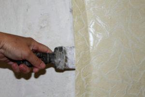 Как быстро и легко снять старые обои со стен? - Postroikado