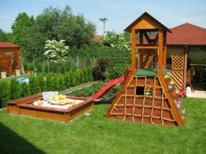 Детские площадки для дачи: чем наполнить и как оформить ...