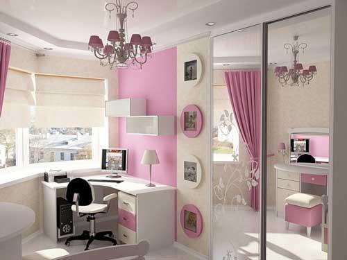 Детская комната для подростка девочки 12 13 14 лет дизайн ...