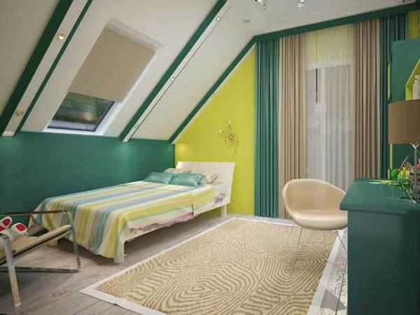 Дизай детской спальни. Интересный дизайн проект интерьера ...