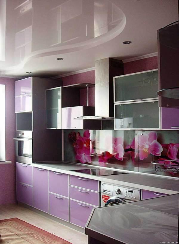 Скинали для кухни. Фото панелей скинали на кухне. Что это ...